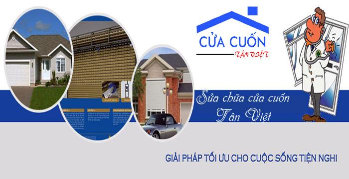Công ty sửa chữa cửa cuốn Tân Việt